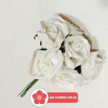 Букет латексная роза 6 голов