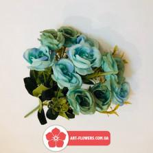 Букет роза пудра 10 голов